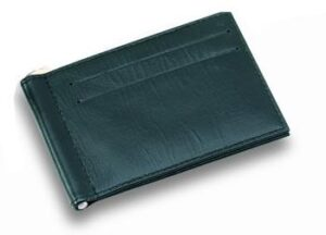 Leather Money Clip Folder - Made To Order