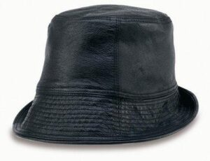Floppy Leather Hat - Made To Order
