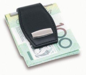 Magnetic Money Clip Leather