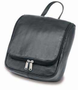 Leather Executive Travel/Wet Pack