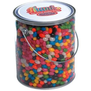 Gourmet Mini Jelly Beans Assorted In 4 Litre Drum