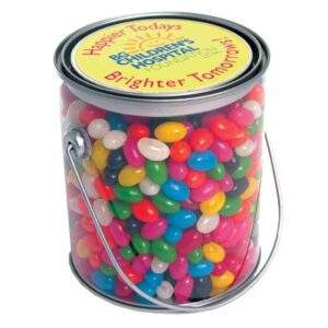Gourmet Mini Jelly Beans Assorted In 1 Litre Drum