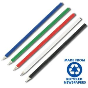 Round Full Length Recycled Newspaper Hb Pencils Sharpened