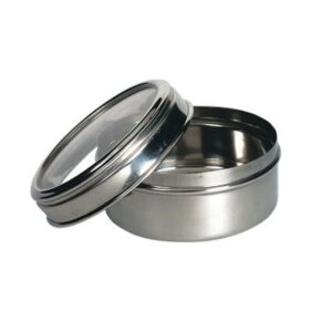 6Cm Stainless Steel Canister