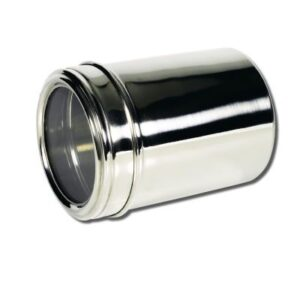 12Cm Stainless Steel Canister