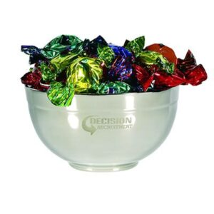 Toffees Assorted In Stainless Steel Bowls