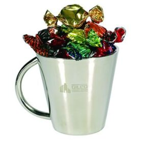 Toffees Assorted In Double Wall Stainless Steel Coffee Cups