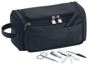 Toiletry Bag with Manicure Set