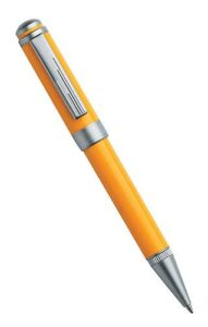 Carnivale series - Twist action ball point - Yellow