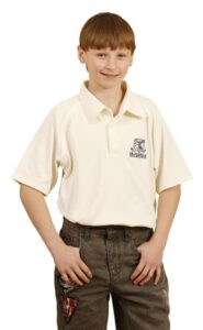 Childrens CoolDry short sleeve polo