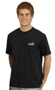 Men's fitted stretch tee shirts