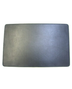 BLACK COW LEATHER PLACE MAT