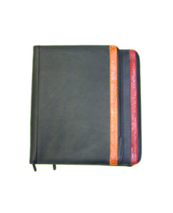 A4 ZIP GENUINE LEATHER COMPENDIUM
