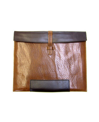 IPAD COVER BROWN COW LEATHER