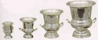 Budget Silver - Wine Coolers -Wooden Base - Xlarge