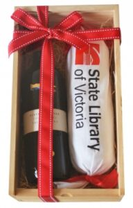 WOODEN WINE BOXES WITH CONFECTIONERY