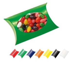 WINDOW PILLOW BOX WITH JELLY BEANS