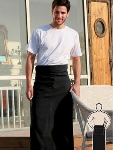 Cotton Drill Continental Apron - With Pocket