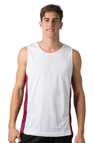 Cooldry 100% Polyester Micromesh Singlet
