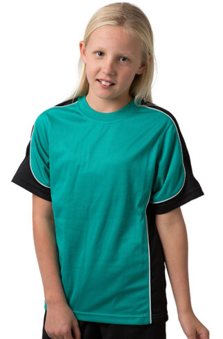 Kids Cooldry 100% Polyester Micromesh T-Shirt