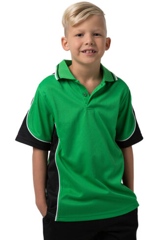 Kids Cooldry 100% Polyester Micromesh Polo