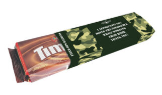 ARMY RATIONS PERSONALISED PACKET OF TIM TAMS TM