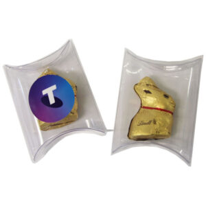 Pillow Pack with Gold Lindt Bunny 10G