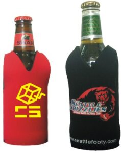 Footy Style Stubby Holder - Screen Print or Full Colour.