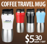 Special Offer on Coffee Travel Mugs