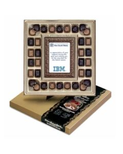 DELUXE TRUFFLE BOX CONSISTING OF BELGIAN CHOCOLATE