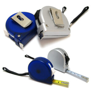 Flexible Steel Measuring Tape with Lock and Clip