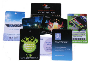 Full Color CR80 Card printed Both Sides - INDENT