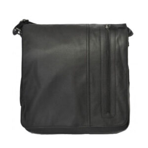 Brookvale Mens Black Satchel Bag