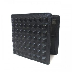 Lachlan Mens Black Leather Wallet