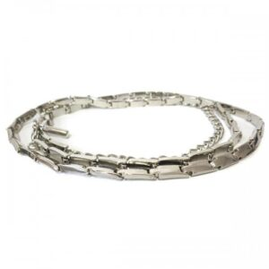 Liz Silver Linked Belt