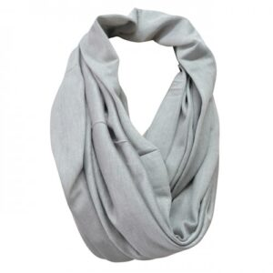 Harlow Charcoal Faux Wool Scarf