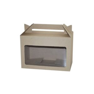 Eco Long Hamper Carry Box with Window