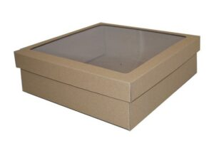 Eco Extra Large Square Box Set with Window