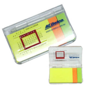 Calendar Notepad with Post-it Notes