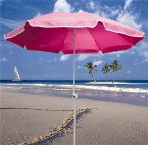 Shelta DONNA BEACH UMBRELLA HOT PINK