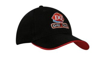 6 Panel 100% Recycled Eco Cap With Duckbill Sandwich