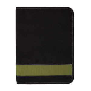 Eco 100% Recycled Deluxe A4 Zippered Compendium