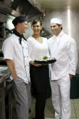 Chefs Vented Jacket Long Sleeve