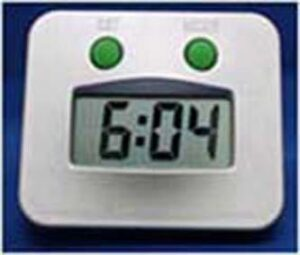 Hydro Water Power Square Clock
