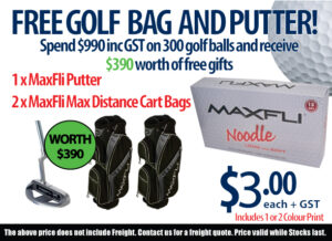 FREE Golf Bag and Putter!