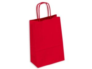 Kraft Paper Bag Coloured Small Includes Twisted Paper Handle