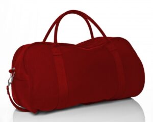 Canvas Duffle - Red