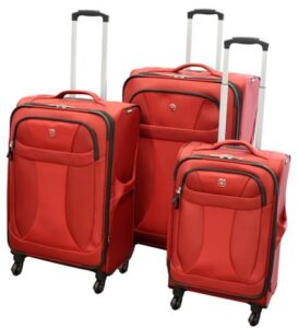 Wenger Neolite 3pc Luggage set - Red