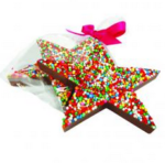 Chocolate Freckle Star