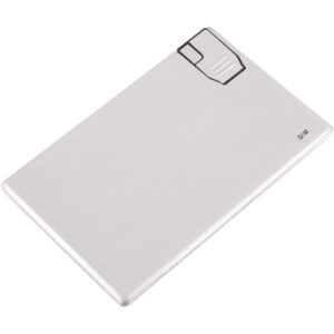 Aluminium Slim Credit Card Flash Drive